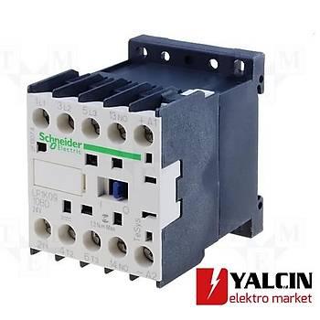 9A (4 KW) 24VDC Bobinli 1NC Mini Kontaktör LP1K0901BD