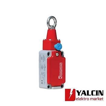 Gerdirmeli Tip Resetli Metal Gövdeli Emniyet (Güvenlik) Sivici L52K23HUM112