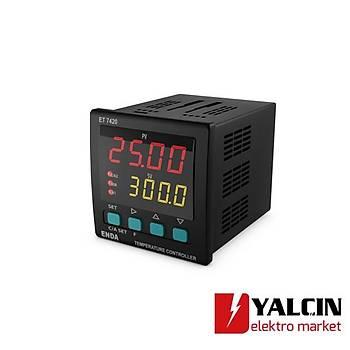 ET7420- Sýcaklýk Kontrol Cihazlarý  230VAC ENDA-ET7420-230VAC