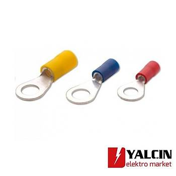 SFK-YK-1202 1,50 - 2,50 M12 Yuvarlak Tip - Ýzoleli Kablo Uçlarý