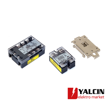 40A 3-32 VDC 24-380 VAC Monofaze Solid State Relay SSR