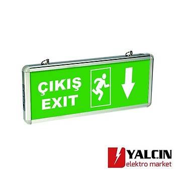 Exiled Çift Yön (EXÝT ÇIKIÞ KAPI KOÞAN ADAM AÞAÐI OK) 5513 1430