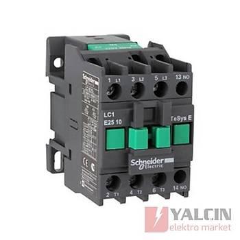 3 kutup E Serisi 32A 220V AC 1NK Kontaktör LC1E3201M5