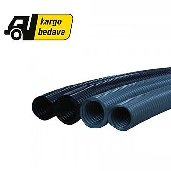 7x10 mm  Polyamid Spiral Boru Siyah OSPA 7
