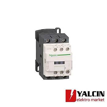 9A (4 KW) 24VDC Bobinli Trifaze Güç Kontaktörü LC1D09BD