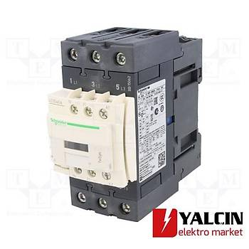 40A (18,5 KW) 220VAC Bobinli Trifaze Güç Kontaktörü LC1D40AM7