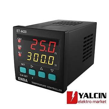 ET4420 Dijital PID  Sýcaklýk Kontrol Cihazlarý  ENDA-ET4420-230VAC
