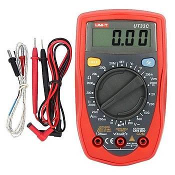 UT 33C unit multimetre ölçü aleti UT33C