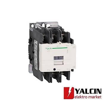 LC1D80B7 80A (37 KW) 24VAC Bobinli Trifaze Güç Kontaktörü