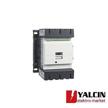 115A  55 KW 24VDC Bobinli Trifaze Güç Kontaktörü LC1D115BD