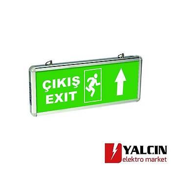 Exiled Çift Yön (EXÝT ÇIKIÞ KAPI KOÞAN ADAM YUKARI OK) 5513 1440