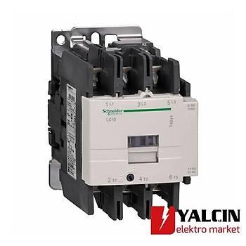 80A (37 KW) 220VAC Bobinli Trifaze Güç Kontaktörü LC1D80M7