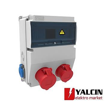 5x32A 380V V12 Kombinasyon Halogen Free BD6-2134-1182