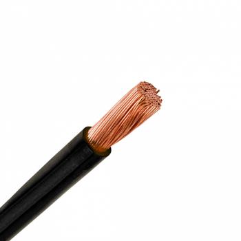 10,00 mm Nyaf Bakýr Ýletkenli Kablo - Siyah