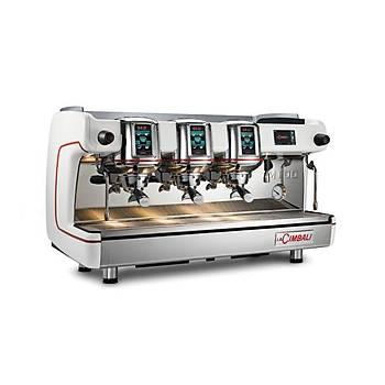 LA Cimbali M100 HD Otomatik Espresso Capuccino Kahve Makinesi 3 Gruplu