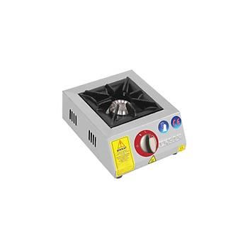 EMEKSAN - Eko Mini - Set �st� 1 Yan��l� Ocak Lpg-Do�algaz (CE) 32x27x14 Cm