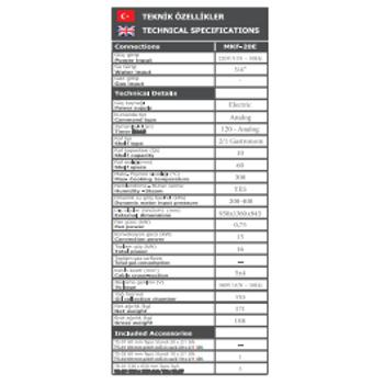Maksan Konveksiyonel Elektrik'li F�r�n (20 Tepsi)