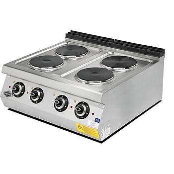 Empero 700 Seri 4 Pleytli Elektrikli Ocak - Set �st� 80x73X30 cm