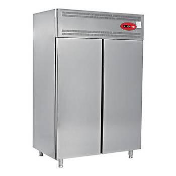 EMPERO �ift Kap�  Depo Tip  Buzdolab� +4 (140x80x205 Cm)