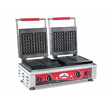 ATALAY Kare Model Waffle Makinas� - 58x32x30