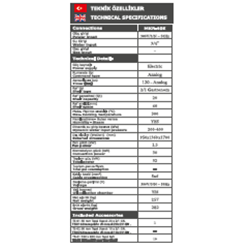 Maksan Konveksiyonel Elektrik'li F�r�n (40Tepsi)