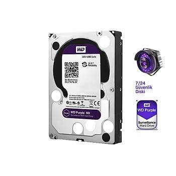 6TB WD Purple 7/24 Güvenlik Harddiski