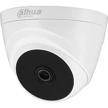 Dahua HAC-T1A21P-0360B-DIP 2 MP 1080P IR Dome ( HDCVI+AHD+TVI+Analog ) Kamera - Plastik Kasa