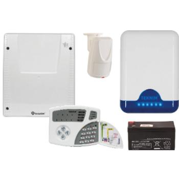 Teknim VAP-404PTA Alarm Sistemi (Akü Dahil Set)