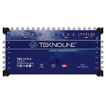 Teknoline TMS 17X12 SONLU UYDU SANTRAL MULTISWITCH