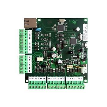 Ksenia KSI1100016.300 Lares 16 IP Ýnternet Baðlantýlý Alarm Panel Kartý