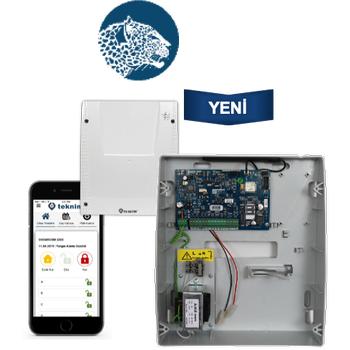 Teknim TSP-5324 GSM/GPRS li 4+4 Zonlu Pars Alarm Sistemi Paneli