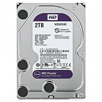 Western Digital WD20PURZ 2 TB Purple Serisi Güvenlik Hard Diski