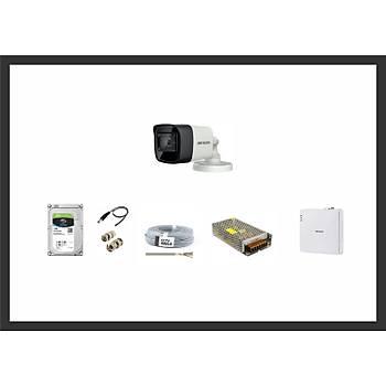 Hikvision 2MP HDTVI 1 Kamera Sistemleri Güvenlik Seti
