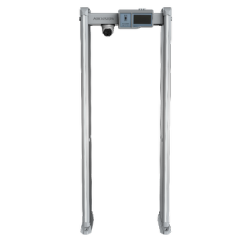 Hikvision ISD-SMG318LT-F Termal Kamera Isý Sýcaklýk Ölçer Metal Boy Dedektörü Geçiþ Kontrol Sistemleri