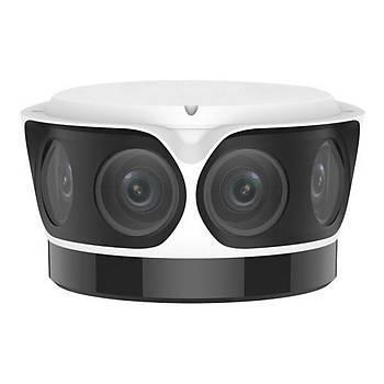 Uniview IPC8542ER5-DUG 4K (8 MP) IR Sabit Lens OmniView (Panoramik) IP Kamera