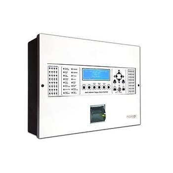 Mavili ML-1246.P Maxlogic Akýllý Adresli Yangýn Alarm Santrali  6 Çevrim, 762 Adres, Printer