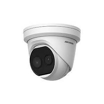 Hikvision DS-2TD1217B-3/PA Isý Ateþ Ölçer Termal Dome Kamera