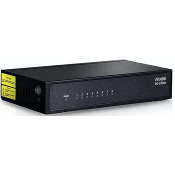 Ruijie RG-S1808 8 Port Masaüstü Yönetilemez Switch