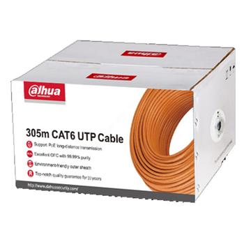 Dahua PFM920I-6UN-C 305m UTP CAT6 CPR E/UL CM Kablo