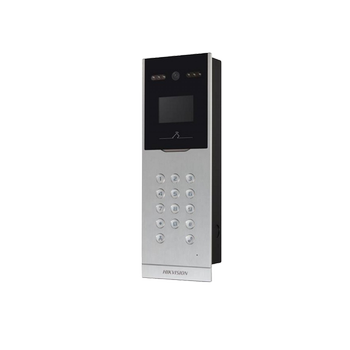 Hikvision DS-KD8002-VM ÝP VÝDEO ÝNTERKOM Görüntülü Diafon Kameralý Dýþ Kapý Zil Paneli
