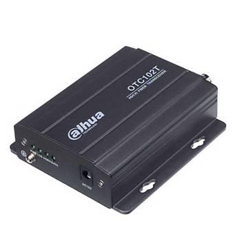 Dahua OTC 102T 1 Kanal HDCVI Fiber Optik Verici
