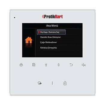 Pratik Plus 2K-430 4.3 TFT Ev Ýçi Görüntülü Diafon Ekran