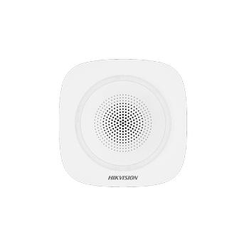 Hikvision DS-PS1-I-WE 868 MHz Kablosuz Ýç Ortam Dahili Siren