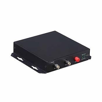 Dahua OTC 202T 2 Kanal HD-CVI Fiber Optik Dönüþtürücü