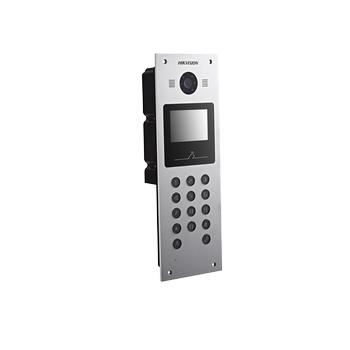 Hikvision DS-KD6002-VM ÝP VÝDEO ÝNTERKOM Görüntülü Diafon Kameralý Dýþ Kapý Zil Paneli