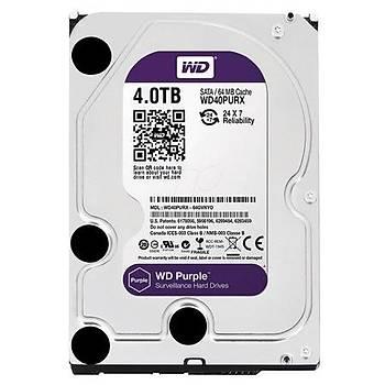 Western Digital WD40PURZ 4 TB Purple Serisi Güvenlik Hard Diski