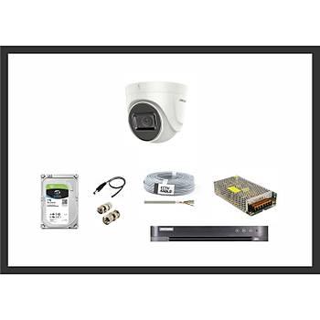 Hikvision 2MP Lite HDTVI Ev Bebek Bakýcý Ýzleme 1 Kamera Sistemleri Güvenlik Seti