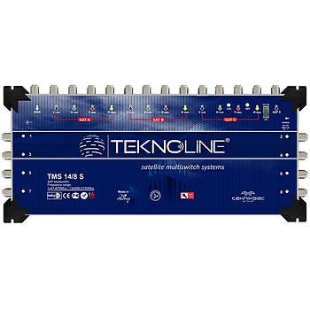 Teknoline TMS 14x8 SONLU UYDU SANTRAL MULTISWITCH