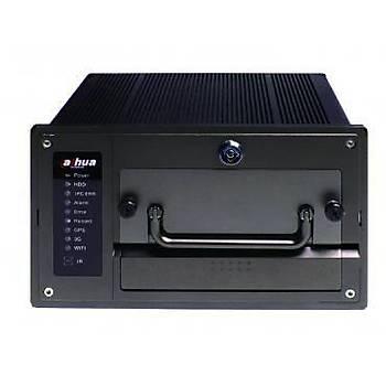 Dahua NVR0404MF-GCW 4 Kanal-4 PoE Mobil IP 3G+GPS+Wifi NVR Kayýt Cihazý