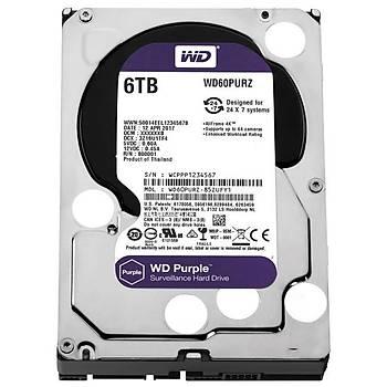 Western Digital WD60PURZ 6 TB Purple Serisi Güvenlik Hard Diski
